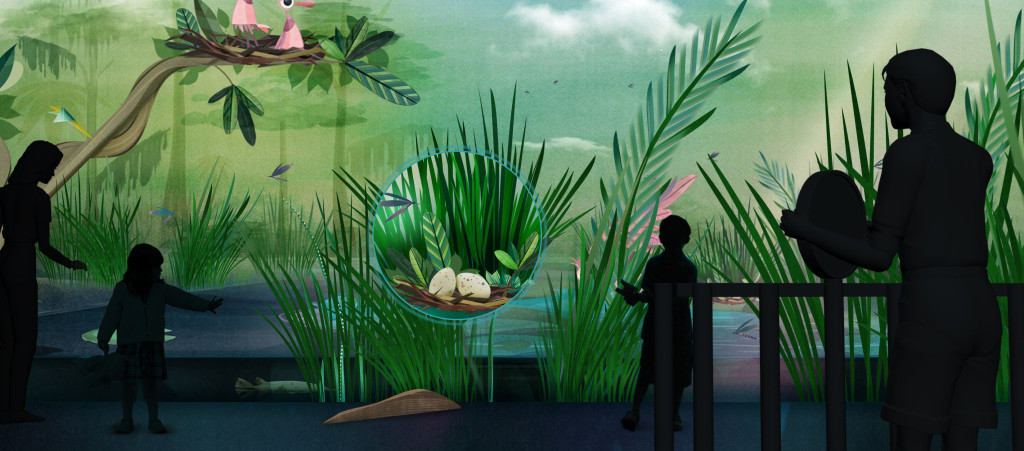 River of Grass exhibit at Frost Museum of Science, Miami