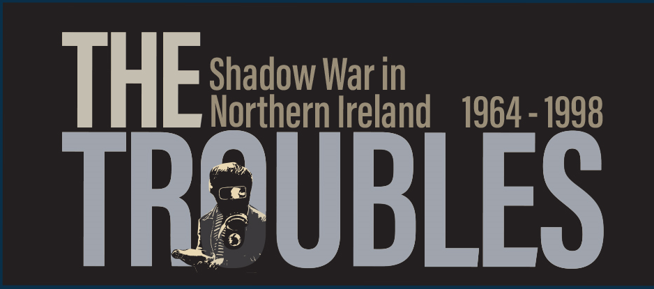 Decorative image of game title 'The Troubles'
