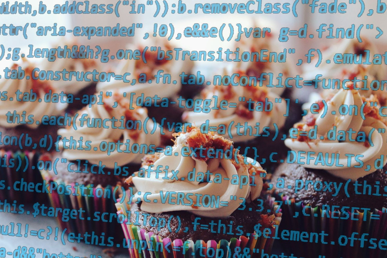 Coding and Cake image